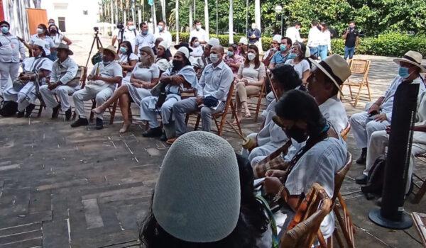Con ceremonia espiritual, avanzan en declaratoria de la Sierra como patrimonio de la humanidad - Noticias de Colombia