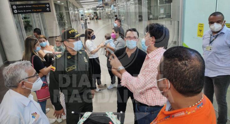 ¡ÚLTIMA HORA!Ya llegó Caicedo a Santa Marta - Noticias de Colombia